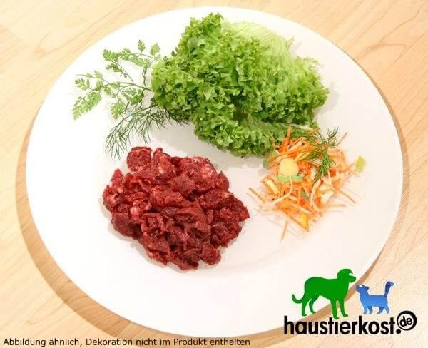 Beef with bones and innards minced, 500g